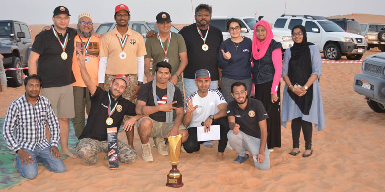 Discoverers Level First Place: Team Difflock from UAE Offroaders