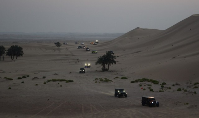 Report: Al Khatim Fun Drive & Club Video Shooting