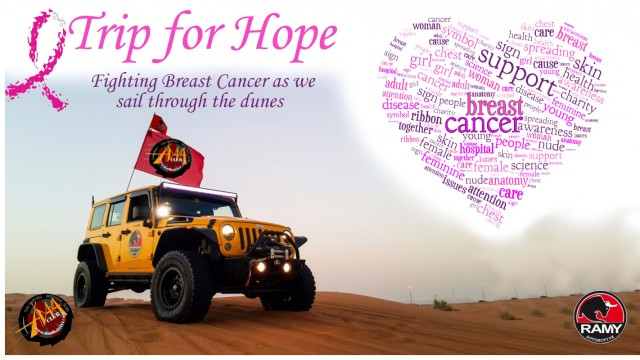 Report: Newbie: Trip for Hope (Pink Day) Convoy 1