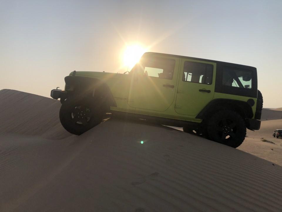 Live from Al Khatim fun drive intermediate trip