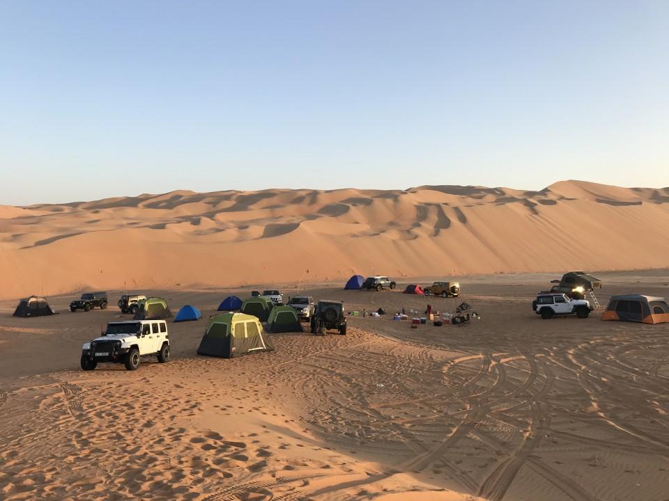 Liwa_Moreeb Dunes, Newbee Trip 03-04 January 2019
