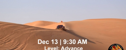 Liwa - Moreeb to Border to Arada - Optional Camping