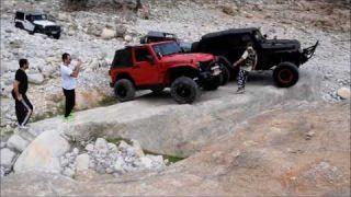 Rock Crawling Wadi Trip in RAK Feb 2017