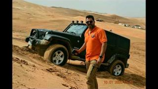 Liwa Festival 2020 AD4x4 Intermediate drive with Falcon
