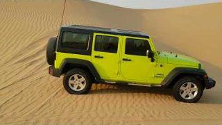 Offroad on al qudra with abi dhabi 4x4