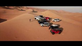 Dunes Bushing with Abu Dhabi 4X4 Group