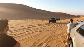 Day in sweihan desert
